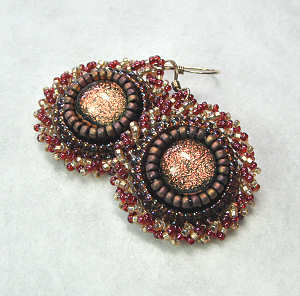 I Ve Created This Bead Embroidery Earrings Tutorial
