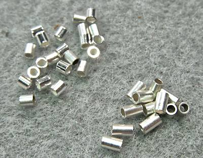 Tube Crimps, 2x2mm and 2x3mm