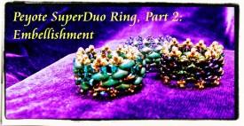Peyote DuperDup Ring 2