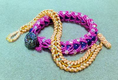 Flat Spiral Weave