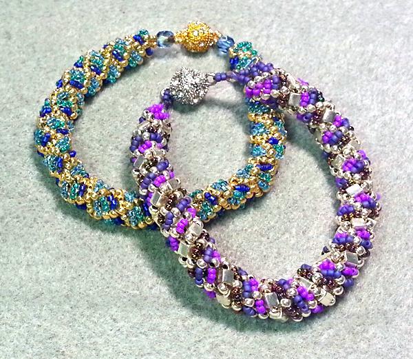 Reverse Russian Spiral Bracelets