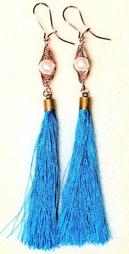 How To Make A Tassel Making Silk And Embroidery Floss Tassels
